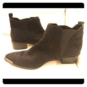 Expression Black Ankle Boots